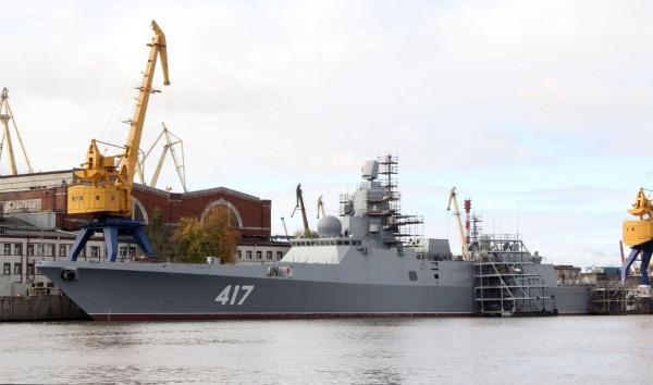 """Под угрозой срыва сроки поставки кораблей """"Адмирал Горшков"""" и """"Адмирал Макаров"""""""