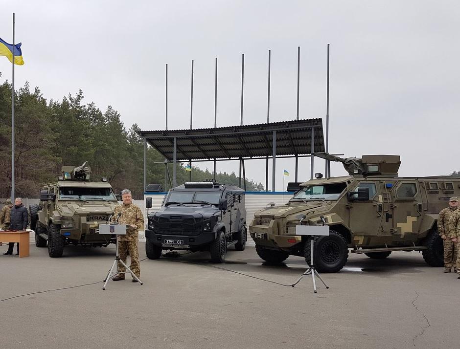 Бронеавтомобиль SandCat в Службе безопасности Украины