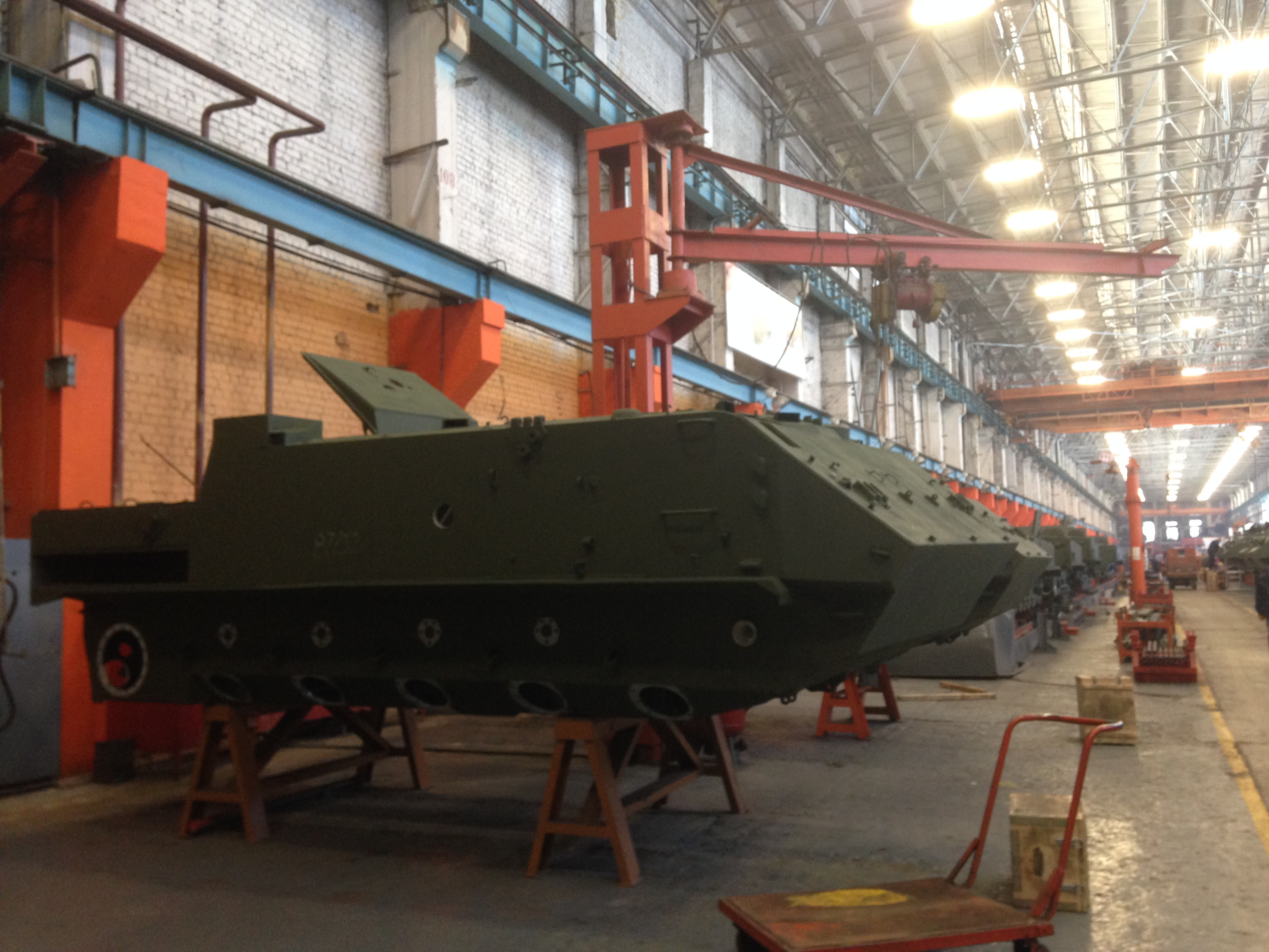 "Serial production of armored personnel carriers BTR-MDM at JSC ""Kurganmashzavod & quot;"