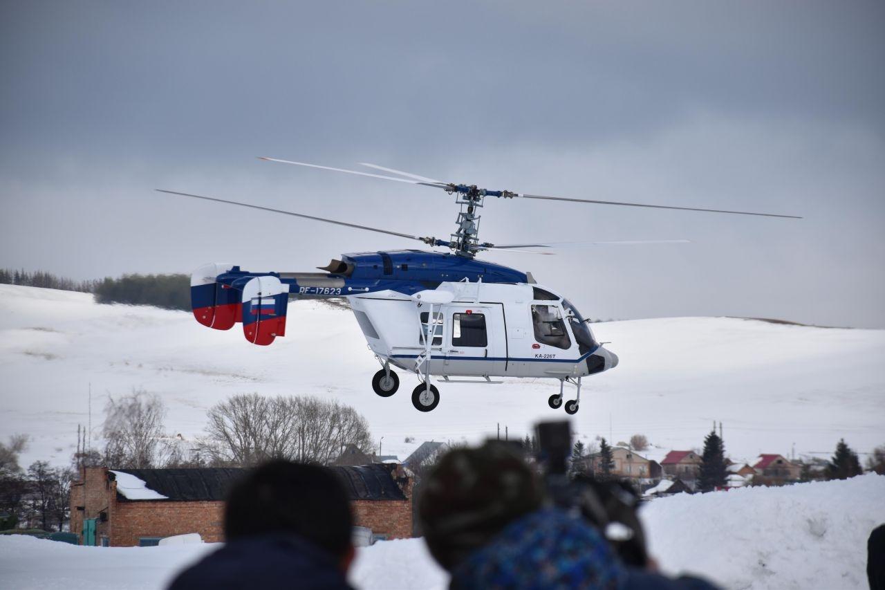 ФСБ России получила два первых корабельных вертолета Ка-226Т