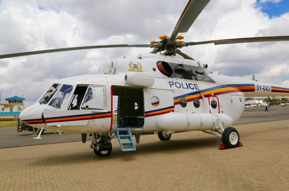 Вертолет Ми-17В-5 поставлен МВД Кении
