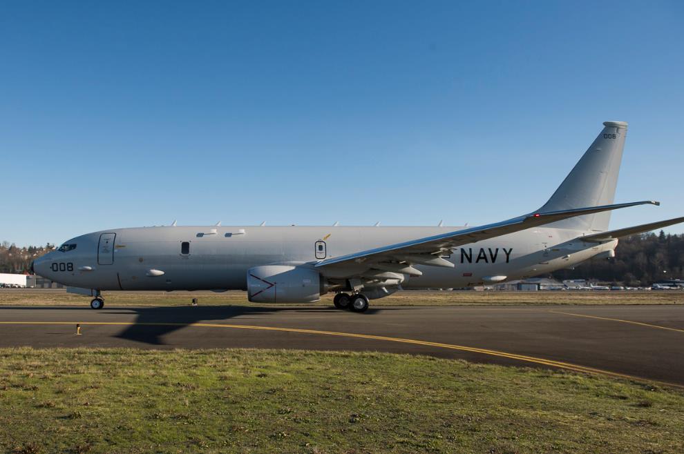 Норвегия приобретает пять базовых патрульных самолетов Р-8А Poseidon