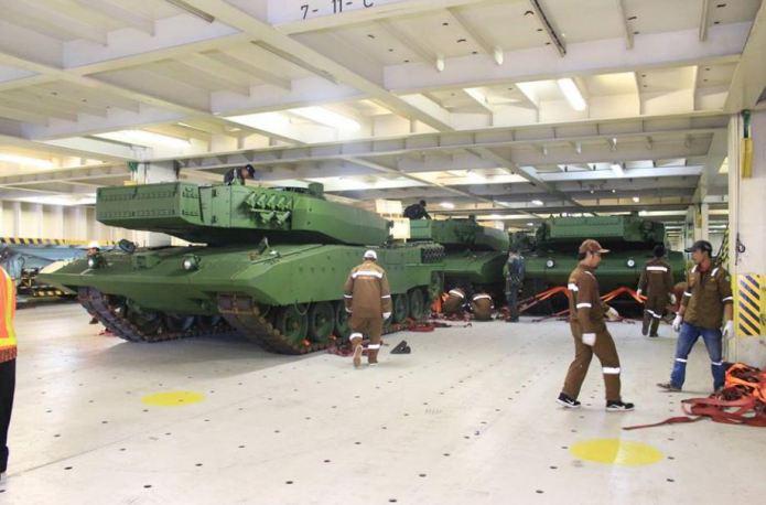 Индонезия завершила получение модернизированных танков Leopard 2RI