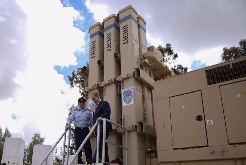 В Израиле официально введен в строй комплекс противоракетной обороны Kelah Da'vid