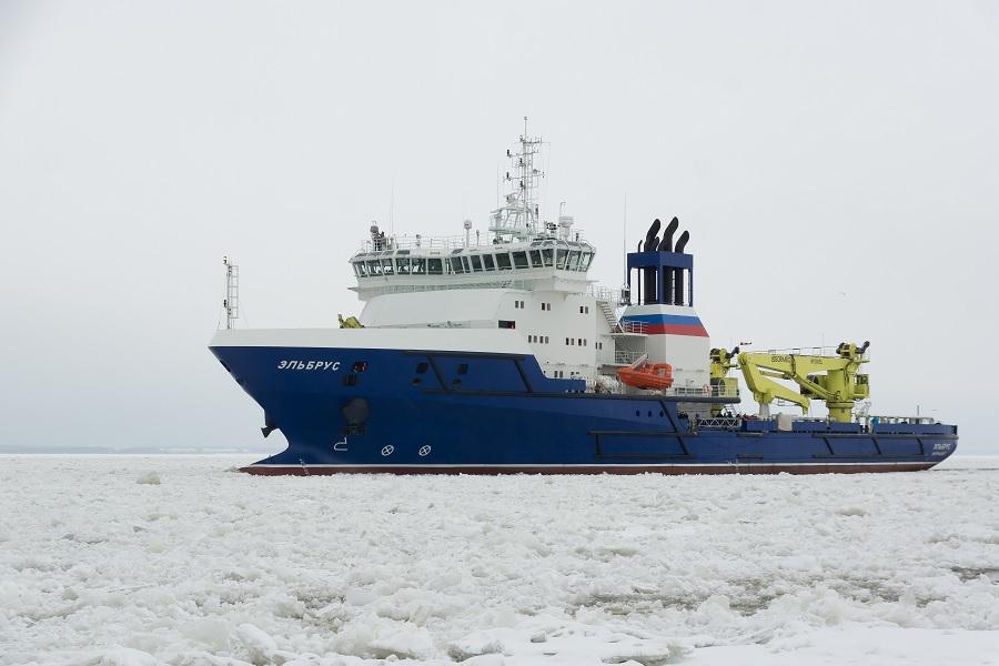 Министерство обороны требует с Северной верфи неустойку за вспомогательное судно «Эльбрус»