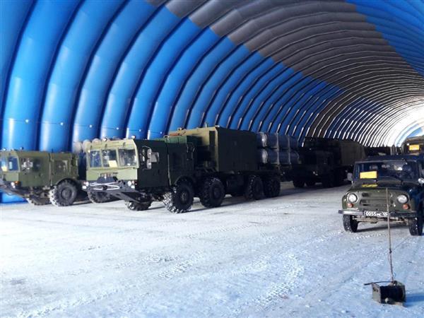 """Береговые ракетные комплексы """"Бал"""" на Курильских островах"""