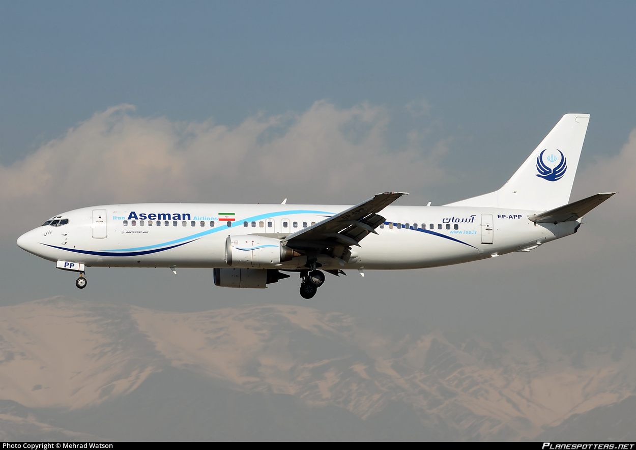 Иранская авиакомпания Iran Aseman Airlines приобретает 30 самолетов Boeing 737 MAX