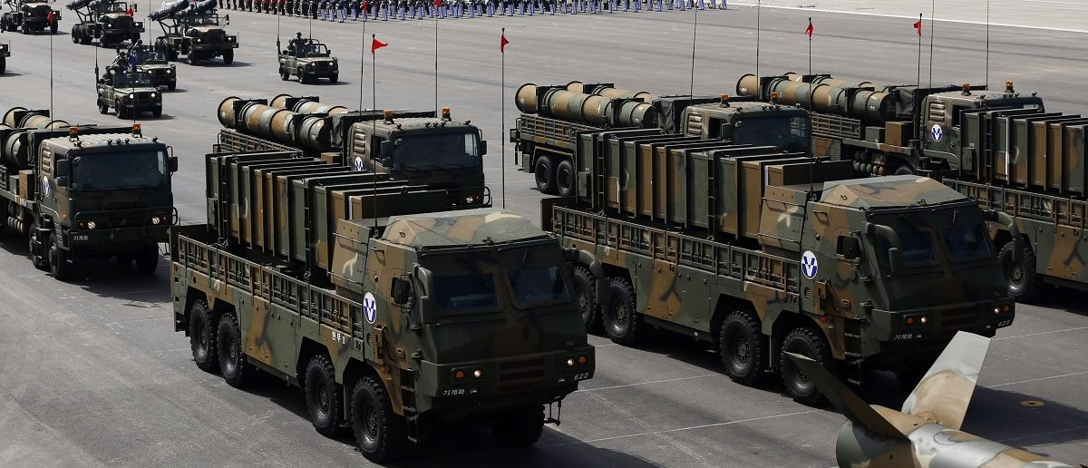 Южная Корея испытала баллистическую ракету с дальностью 800 км