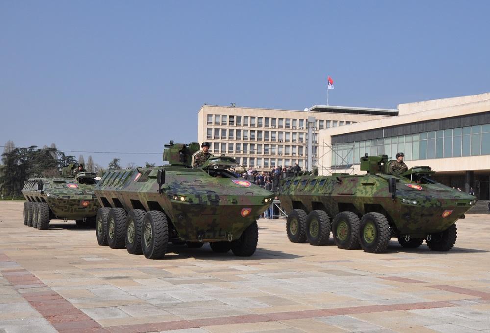 МВД Сербии получило бронетранспортеры LAZAR 3