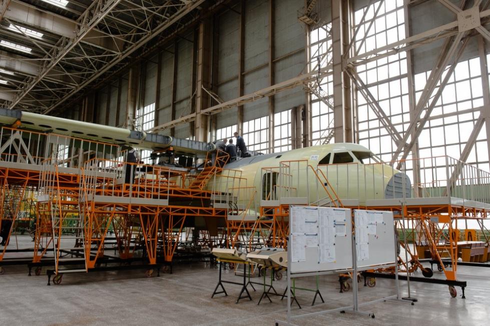 На ВАСО срываются сроки подготовки первого прототипа самолета Ил-112В к первому полёту
