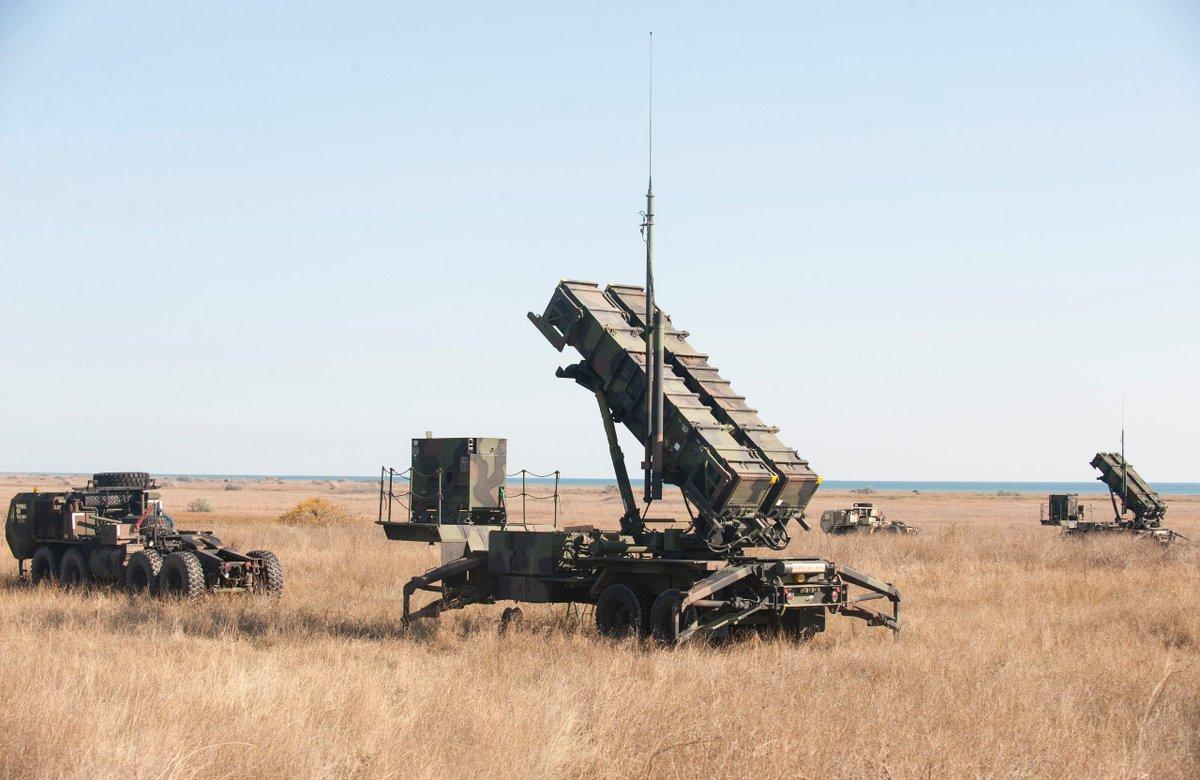 Предстоящая продажа зенитной ракетной системы Patriot Румынии
