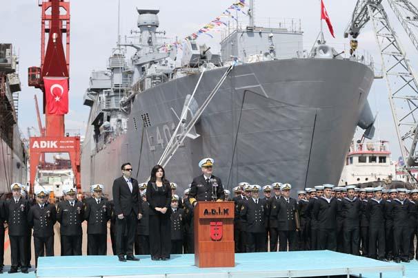 Новый турецкий большой десантный корабль Bayraktar