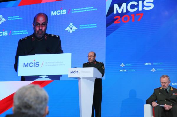 Выступление министра обороны Ирана на Шестой Московской конференции по международной безопасности