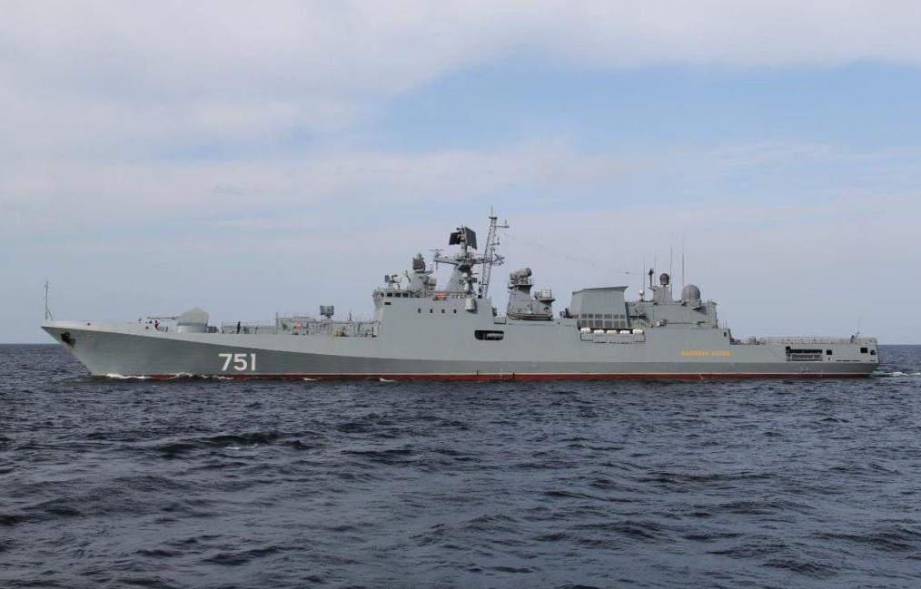 """Фрегат """"Адмирал Эссен"""" наконец идет на Черноморский флот"""