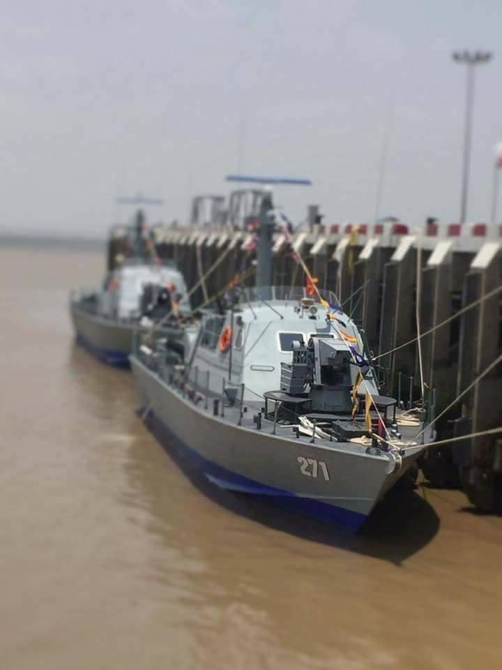 Мьянма получила два первых израильских катера типа Super Dvora Mk 3