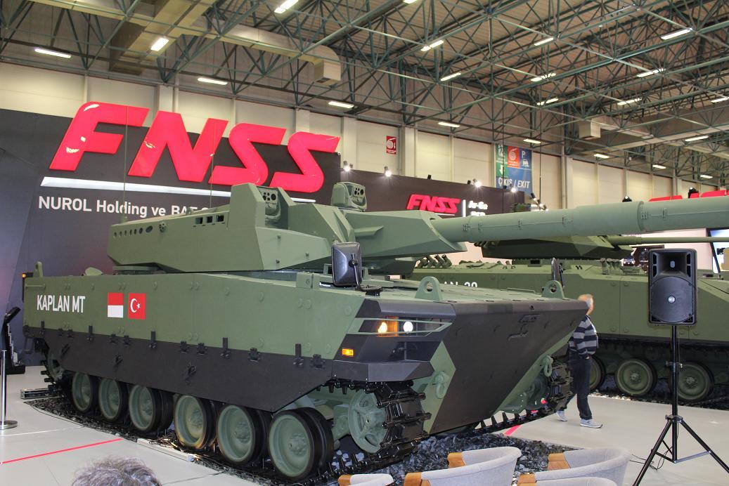"Представлен прототип ""среднего танка"" Kaplan MT"