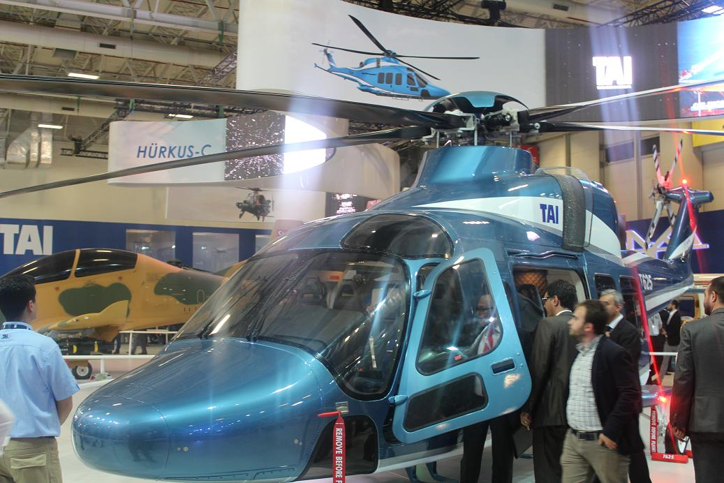 Новый турецкий вертолет Т625