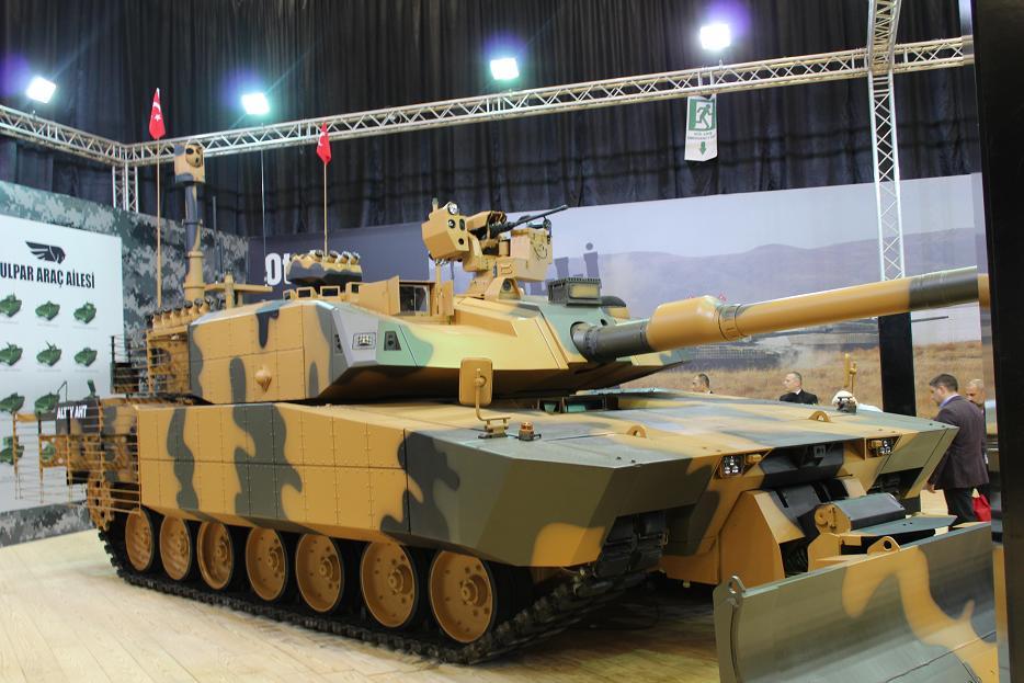 Турецкая бронетехника на выставке IDEF-2017. Часть 1: Otokar