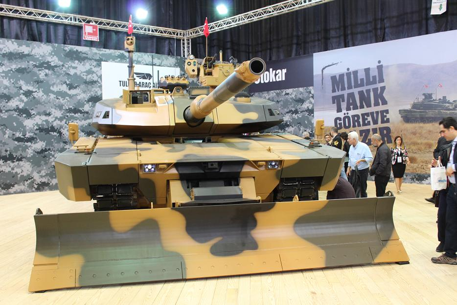 Выбран производитель турецкого танка Altay и его двигателя