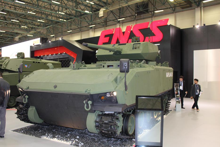 Турецкая бронетехника на выставке IDEF-2017. Часть 2: FNSS