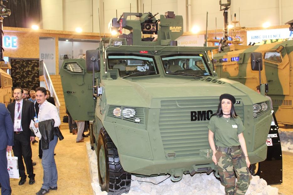 Турецкая бронетехника на выставке IDEF-2017. Часть 3: компания ВМС