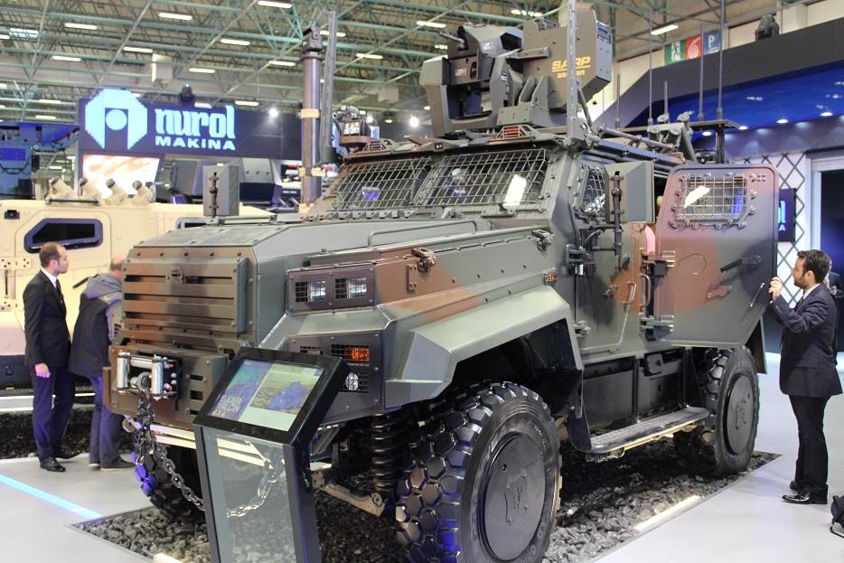 Соглашение о производстве в Узбекистане турецких бронированных машин Ejder Yalçın