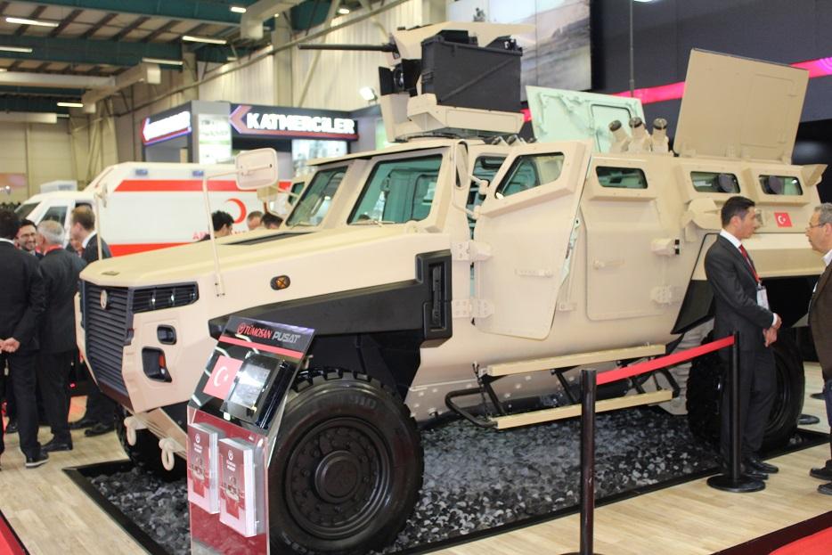 Турецкая бронетехника на выставке IDEF-2017. Часть 5: прочие производители