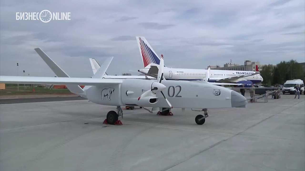 Второй опытный образец тяжелого беспилотного летательного аппарата «Альтаир»