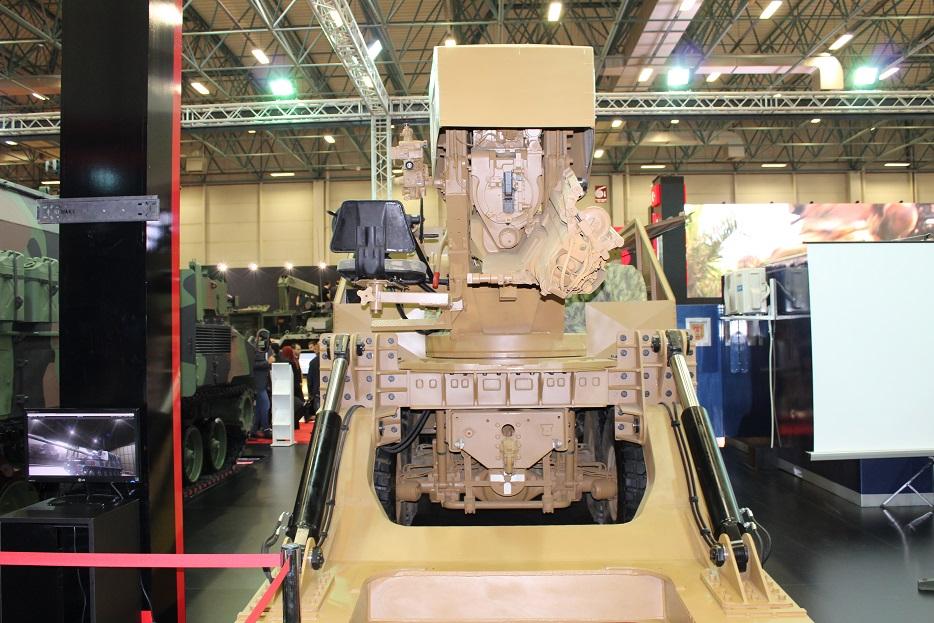 Новые турецкие 155-мм самоходные гаубицы на колесном шасси 124