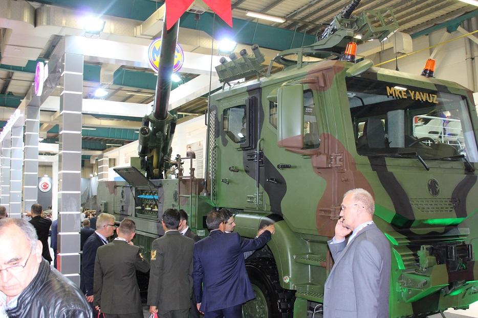 Новые турецкие 155-мм самоходные гаубицы на колесном шасси 127