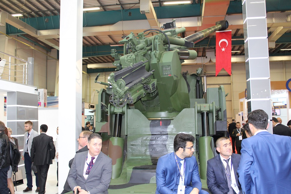 Новые турецкие 155-мм самоходные гаубицы на колесном шасси 129