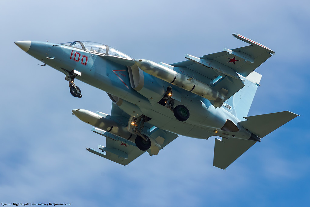 Первые три Як-130 программы 2017 года