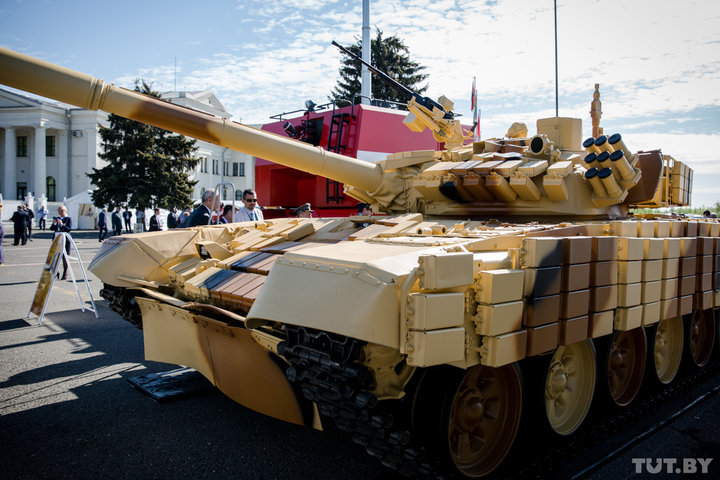 Белорусская модернизация танка Т-72