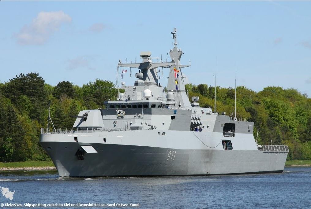 В Алжир прибыл второй фрегат проекта МЕКО А200 АN