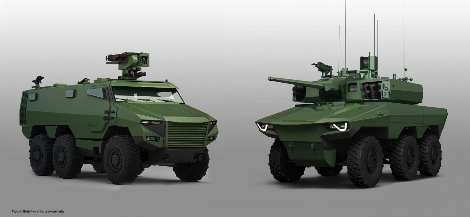 Бельгия приобретет новые французские бронированные машины Jaguar и Griffon
