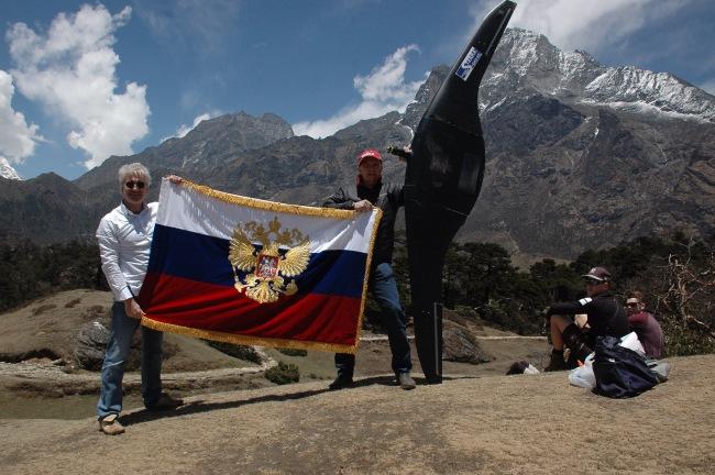 Российский беспилотник покорил Эверест