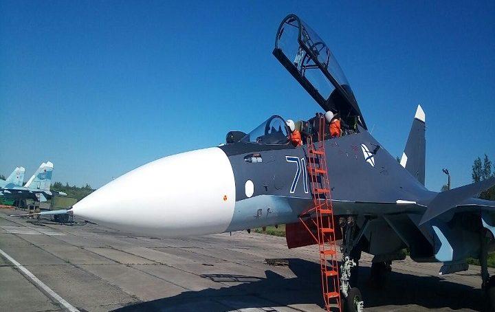 Два Су-30СМ прибыли в состав авиации Балтийского флота