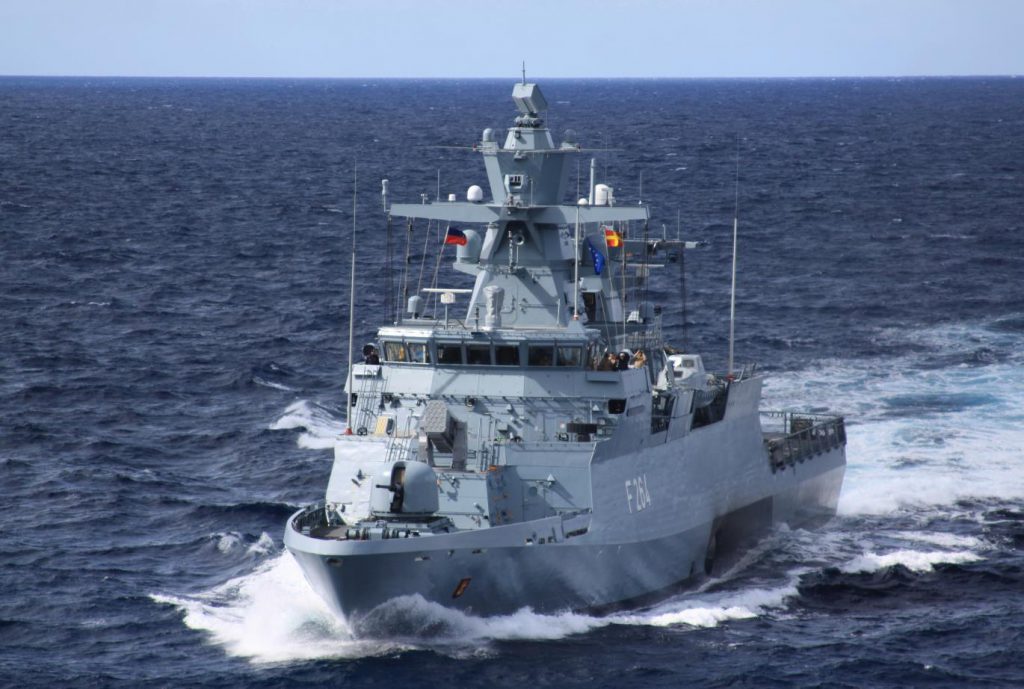 Борьба вокруг контракта на постройку пяти новых корветов проекта К130 для германского флота