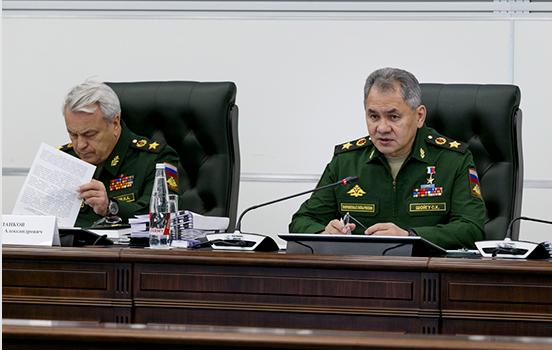 Состоялось выездное заседание Коллегии Министерства обороны России