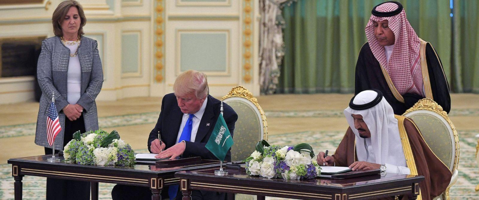 Что подписал Дональд Трамп с Саудовской Аравией