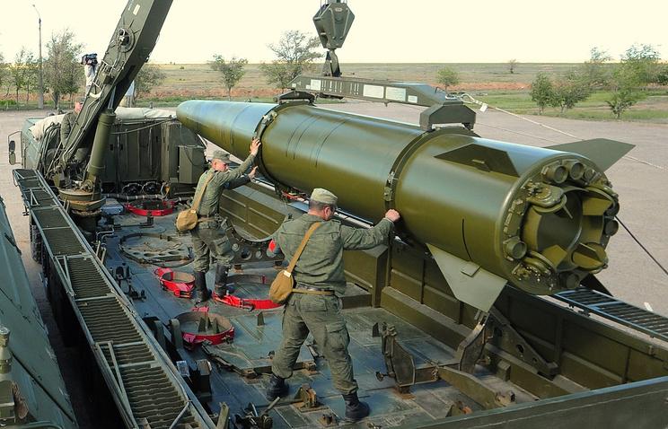 """В Восточном военном округе сформирована новая ракетная бригада, оснащенная комплексами """"Искандер-М"""""""