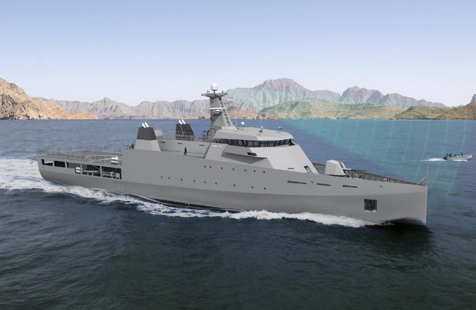 Пакистан заказал патрульный корабль группе Damen