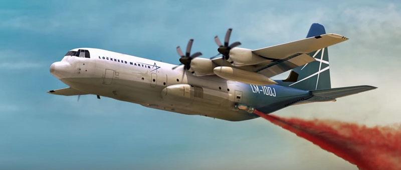 Лесная служба США отказалась от закупки нового противопожарного самолета