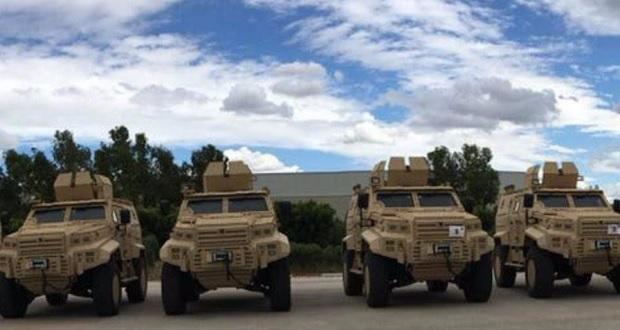 Тунис получает турецкие бронированные машины Edjer Yalçin