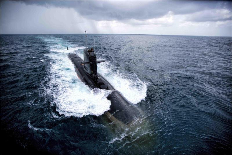 First_torpedo_firing_trials_of_INS_Kalvari_(S50)
