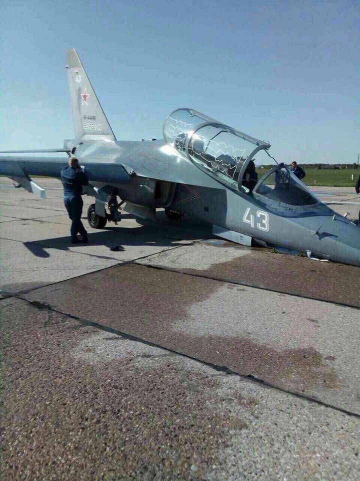 Две аварии Як-130 за день