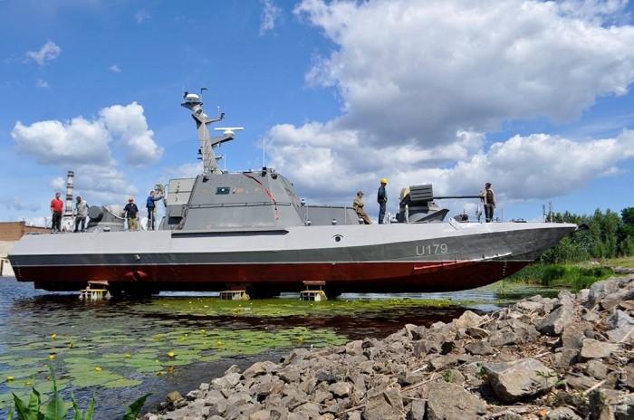 """Западные аналитики об украинском бронекатере проекта 58155 """"Гюрза-М"""""""