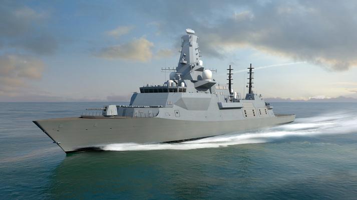 Выдан контракт на постройку первых трех британских фрегатов типа 26