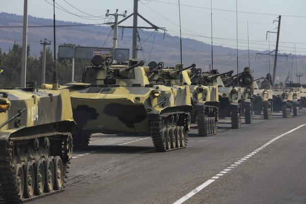 Перевооружение 56-й отдельной гвардейской десантно-штурмовой бригады