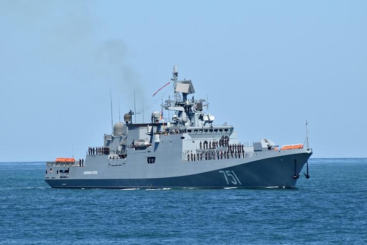 Фрегат «Адмирал Эссен» прибыл на Черноморский флот